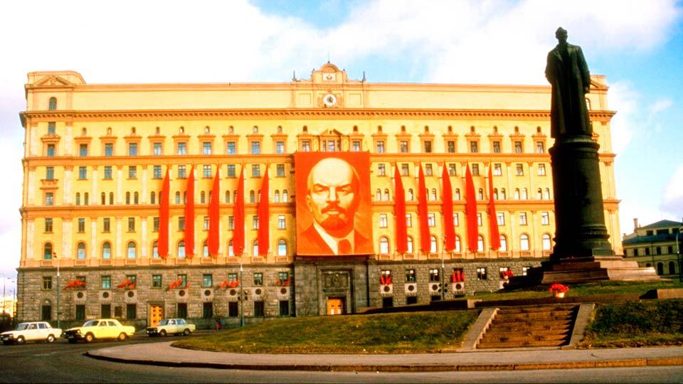 Памятник Дзержинскому в Москве